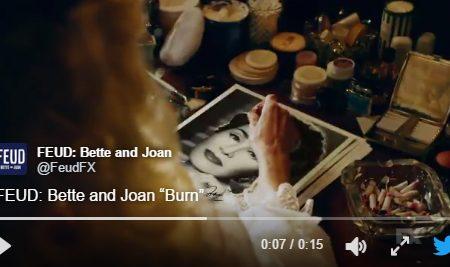"""Feud: Bette and Joan – Promo """"Bum"""" e """"Cast Spotlight"""""""