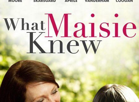 Quel che sapeva Maisie. Un ritratto familiare riuscito solo a metà.