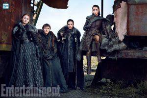 Game of Thrones – Foto dal servizio per EW