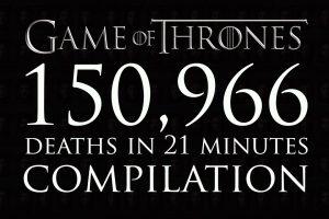 Game of Thrones – Video con tutte le oltre 150mila morti della serie tv