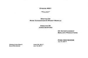 Arrow 6 – Rivelato il titolo dell'episodio 6×01