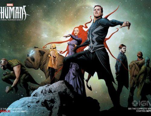 Inhumans – 4 nuovi poster dei personaggi