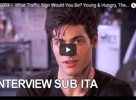 Le star di Young & Hungry, The Bold Type e Shadowhunters scelgono il segnale stradale più adatto a loro!