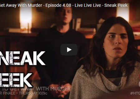 How to Get Away With Murder – 4×08 – Live. Live. Live. – Sneak peek