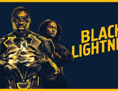 Black Lightning – Promo e poster promozionale