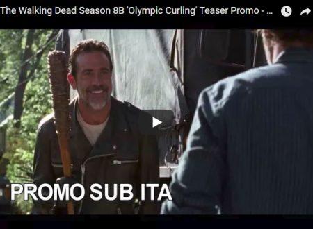 """Promo della stagione 8B di The Walking Dead """"Olympic Curling"""""""