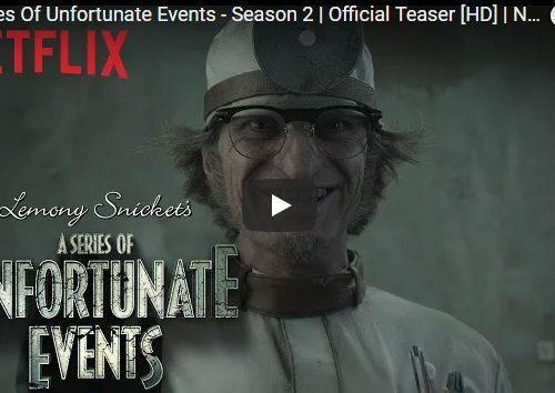 Una Serie di Sfortunati Eventi – Stagione 2 – Ecco il secondo teaser promo