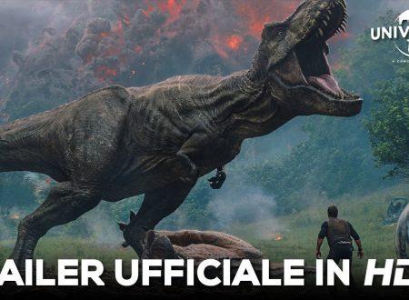 Jurassic World – Il Regno Distrutto – Ecco il Trailer Finale