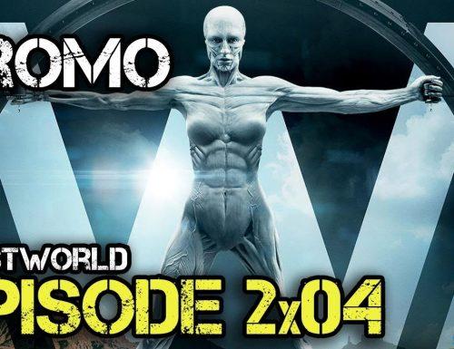 Westworld – 2×04 – The Riddle of the Sphinx – Promo e foto promozionali