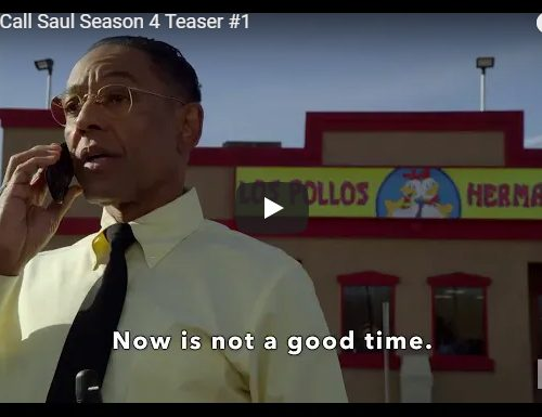 Better Call Saul – Stagione 4 – Teaser #1