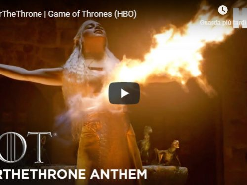 Game of Thrones – L'ottava stagione ad aprile 2019 – Teaser promo