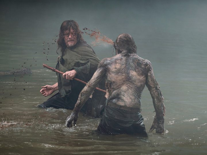 Norman Reedus as Daryl Dixon - The Walking Dead _ Season 9, Episode 6 - Photo Credit: Gene Page/AMC
