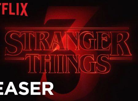 Stranger Things 3 – Ecco il teaser che svela i titoli degli episodi