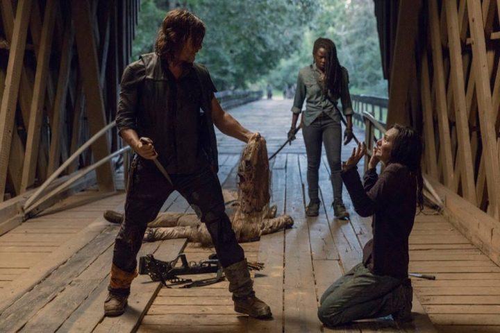 Daryl, Michonne, Lydia