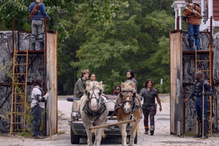 Daryl, Henry, Connie, Michonne, Lydia,