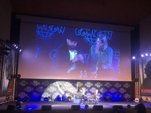 Al Comicon di Napoli Tom Cullen per presentare la seconda stagione di Knightfall