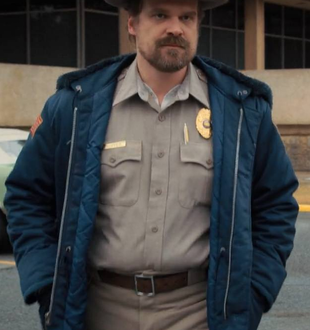 Verso Stranger Things 3: Sceriffo Jim Hopper