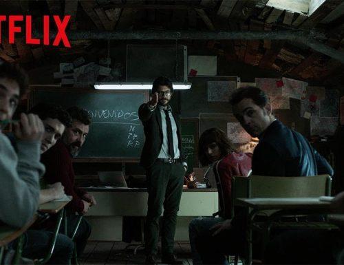 La casa di carta 3 – Trailer ufficiale della serie spagnola Netflix