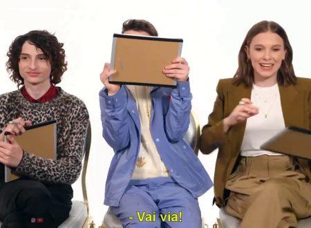 I ragazzi di Stranger Things sono davvero migliori amici? Ecco il test – Video SUB ITA