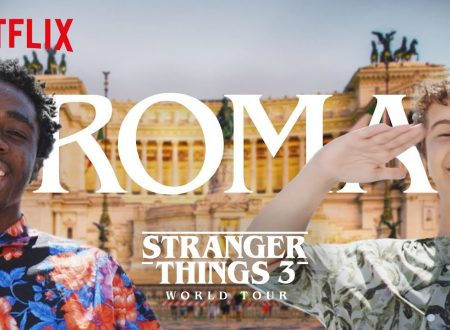 Stranger Things – Il cast in tour a Roma