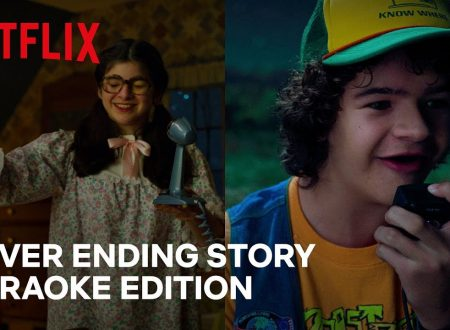 Stranger Things 3 | Dustin e Suzie cantano NeverEnding Story Karaoke Edition | Netflix