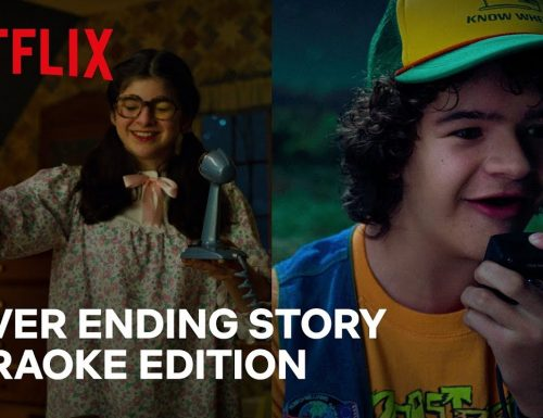 Stranger Things 3 | Dustin e Suzie cantano NeverEnding Story Karaoke Edition | Netflix