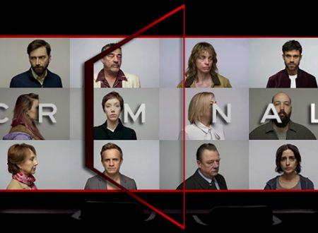 Criminal – Trailer della nuova serie Netflix