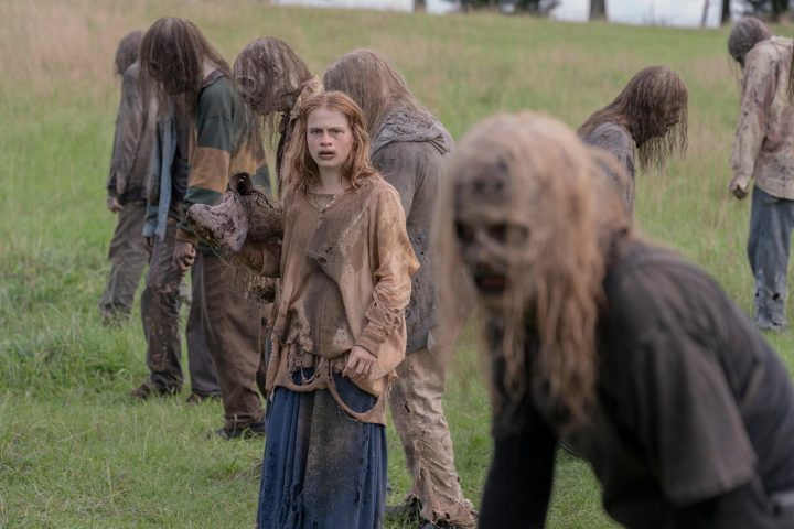 Juliet Brett as Frances - The Walking Dead