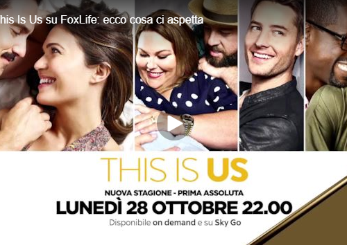This is Us 4 arriva su FoxLife il 28 ottobre