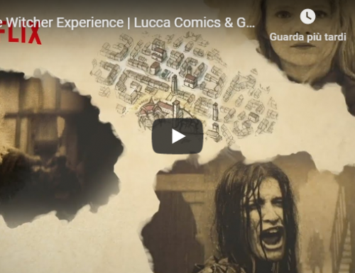The Witcher Experience al Lucca Comics & Games