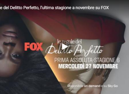 Le regole del delitto perfetto: l'ultima stagione da fine novembre su Fox