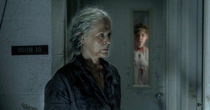Melissa McBride as Carol Peletier, Matt Lintz as Henry - The Walking Dead _ Season 10, Episode 3 - Photo Credit: Jackson Lee Davis/AMC