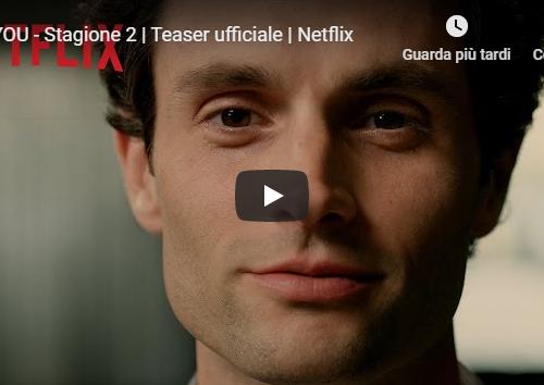 YOU – Teaser ufficiale della seconda stagione