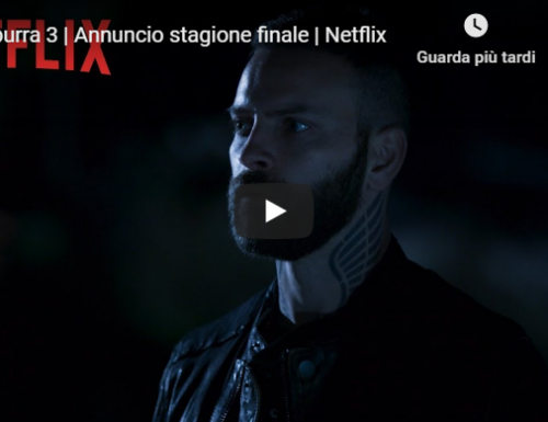 Suburra 3 | Annuncio stagione finale | Netflix