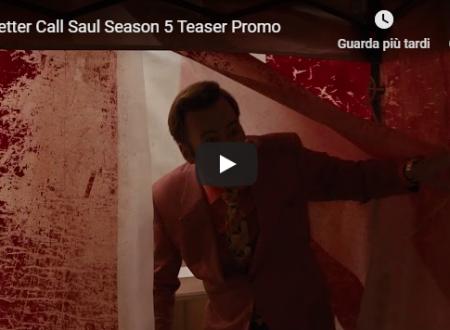 Better Call Saul 5 – Ecco il teaser promo della quinta stagione