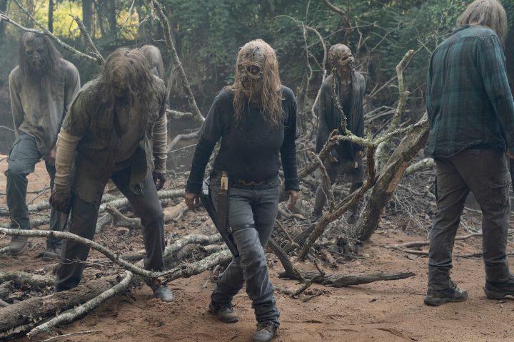 Samantha Morton as Alpha - The Walking Dead _ Season 10 - Photo Credit: Jace Downs/AMC