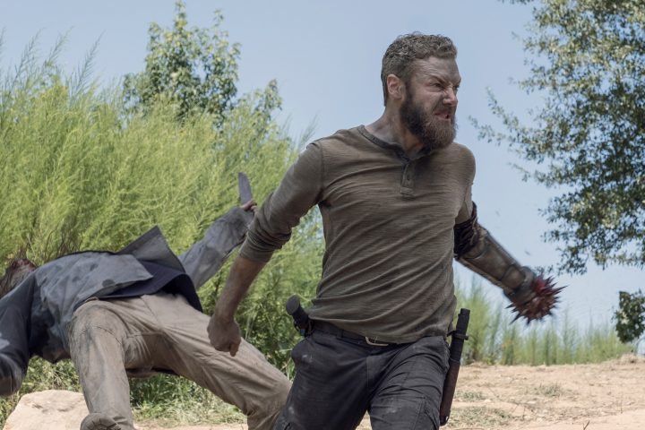 Ross Marquand as Aaron - The Walking Dead _ Season 10, Episode 9 - Photo Credit: Chuck Zlotnick/AMC