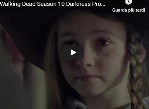 """The Walking Dead 10 – Promo """"Darkness"""""""