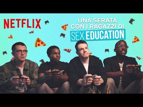 Una serata con i ragazzi di Sex Education