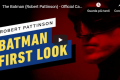 The Batman - Prime immagini di Robert Pattinson