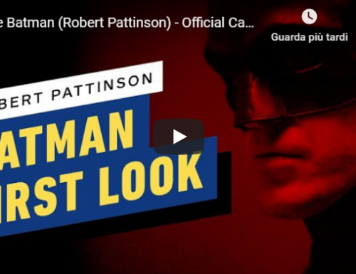 The Batman – Prime immagini di Robert Pattinson