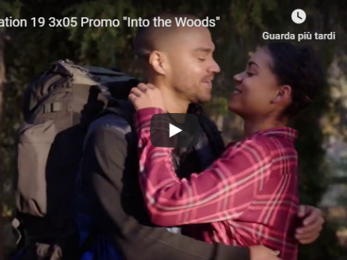 Station 19 – 3×05 – Into the Woods – Promo