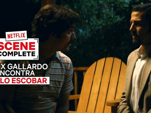 Félix Gallardo incontra Pablo Escobar in Narcos: Mexico | Netflix