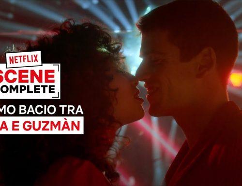 Il primo bacio tra Nadia e Guzmán in Élite
