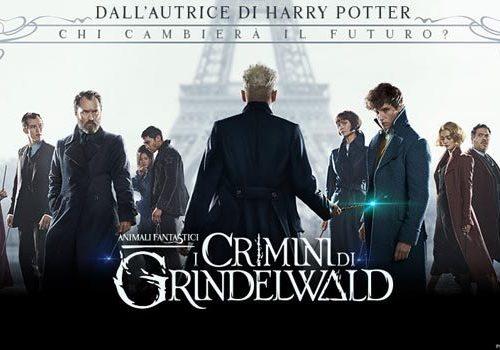 Animali fantastici – I crimini di Grindelwald: questa sera su Canale5