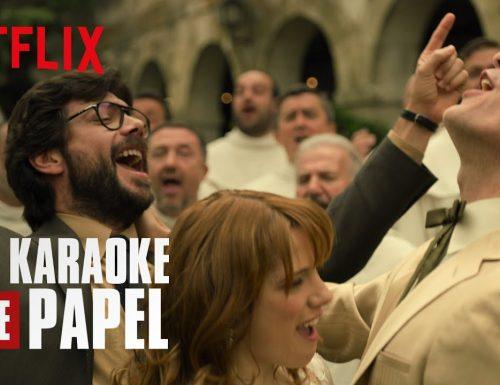 La Casa di Carta | Il Karaoke de Papel – La banda canta Centro di gravità permanente | Netflix