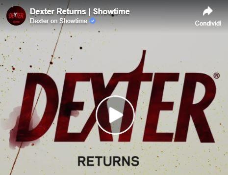 Dexter – Nuova stagione in arrivo su Showtime