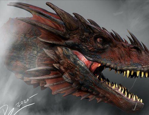 House of the Dragon – Il concept art dei draghi