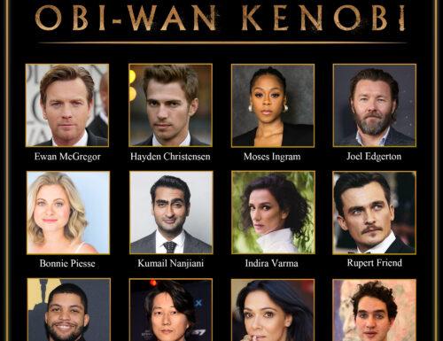 Obi-Wan Kenobi – Ecco il cast ufficiale della serie evento Disney+