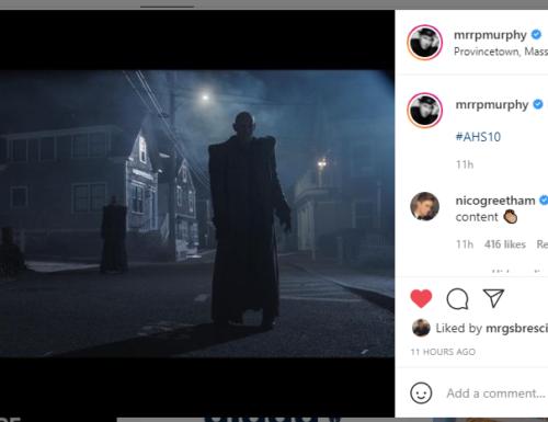 American Horror Story 10 – Ryan Murphy pubblica una nuova foto